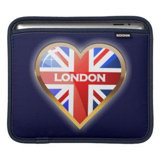 Englisches Herz iPad Sleeve