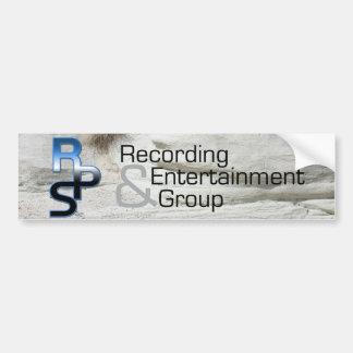 Enregistrement et divertissement de RPS Autocollant De Voiture