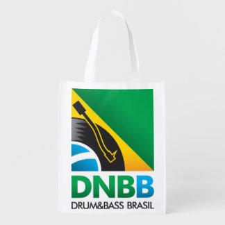 Enregistrements classiques du sac réutilisable DNB Sacs D'épicerie Réutilisables