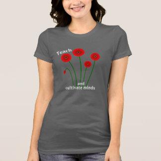 Enseignez et cultivez le tee - shirt d'esprits t-shirt