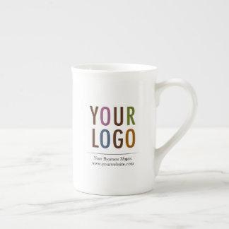 Entbeinen Sie China-Tassen-Tee-Schale mit Logo 10 Prozellantasse