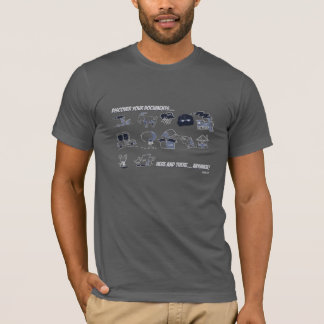 Entdecken Sie Ihre Dokumente überall… T-Shirt