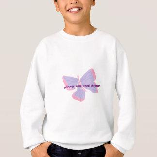 Entdecken Sie Ihren inneren Schmetterling Sweatshirt