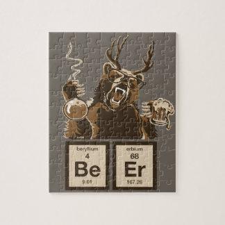 Entdecktes Bier der Chemie Bär