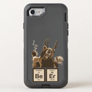 Entdecktes Bier der Chemie Bär OtterBox Defender iPhone 8/7 Hülle