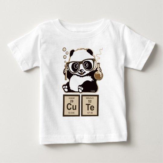 Entdecktes niedliches der Chemie Panda Baby T-shirt