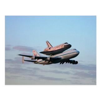 Entdeckungflyout-Postkarte Postkarte
