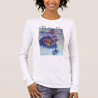 Entdeckungs-Schönheit im Regen Langarm T-Shirt