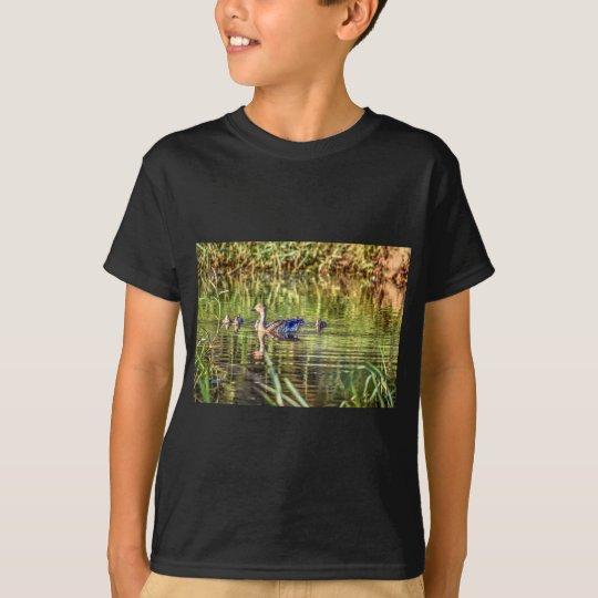 ENTE IN DEN WASSER-AUSTRALIEN-KUNST-EFFEKTEN T-Shirt