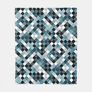 Enten-Ei-abstrakte Mosaik-Muster-Fleece-Decke Fleecedecke