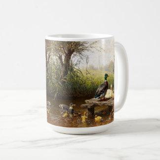 Enten-Entlein-Vogel-Teich-Tiertier-Tasse Kaffeetasse