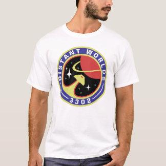 Entferntes Weltausflug-Shirt (Weiß der Art-2) T-Shirt