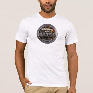 Entgehen Sie dem Luken-Licht-T - Shirt
