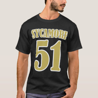 Entkerner 51 Schwarz-Gold T-Shirt