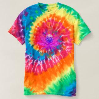 Entkerner-Jungen-dünnes Gott-T-Stück (gefärbte T-shirt