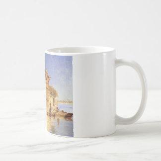 Entlang dem Ghats Mathura durch Edwin-Lord Weeks Kaffeetasse