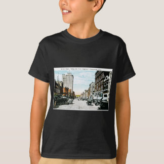 """Entlang der Dixie Landstraße"", Chattanooga, Tenn. T-Shirt"