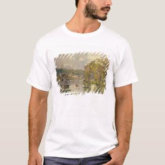 Entlang der Seine bei Meudon, c.1893 (Öl auf T-Shirt