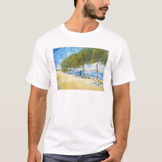Entlang der Seine durch Vincent van Gogh T-Shirt