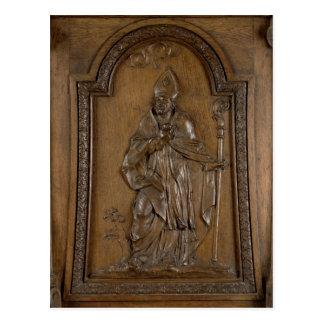 Entlastung, die Bischof St. Medard darstellt Postkarte