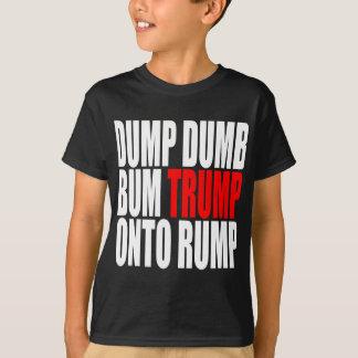 """""""ENTLEEREN SIE STUMMEN WERTLOSTrumpf AUF T-Shirt"""