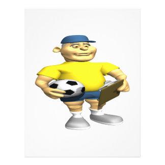 Entraîneur du football prospectus customisé