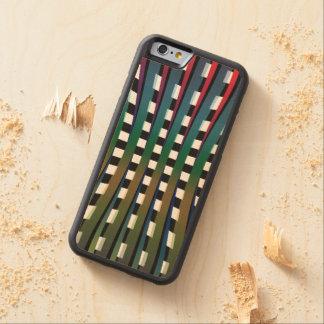 Entscheiden chromatischer hölzerner Fall Bumper iPhone 6 Hülle Ahorn
