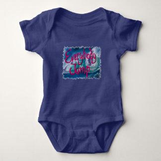 Entschließung 2017: Baby jeder Sprung Baby Strampler