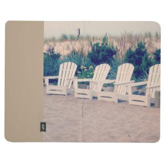 Entspannende Strand-Leben-Taschen-Zeitschrift Tagebuch