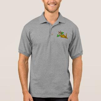 Entspannender Drache Polo Shirt