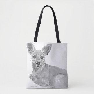 Entspannender Mischzuchthund Tasche
