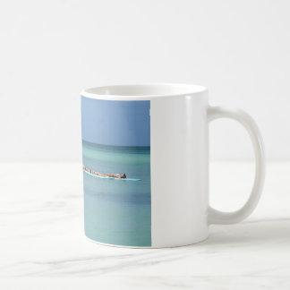 Entspannung an der Seekaffee-Tasse Tasse