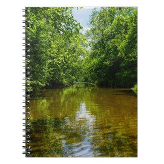 Entspannung bei The Creek Notizbuch