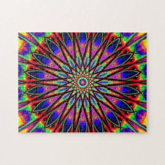 Entspannung der Regenbogen-Stern-Mandala-|