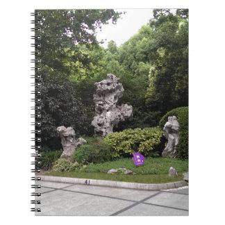 Entspannung im Park Spiral Notizbuch