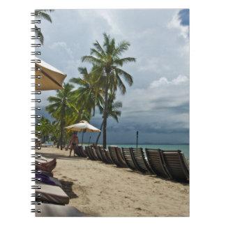Entspannung in Fidschi Notizbuch