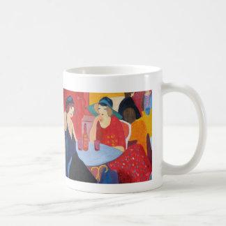 Entspannung mit einem Freund Kaffeetasse