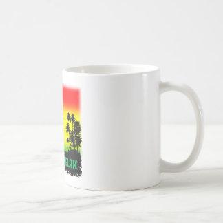 Entspannung rasta kaffeetasse