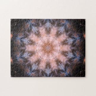 Entspannungs-Mandala des Raum-Portal-|
