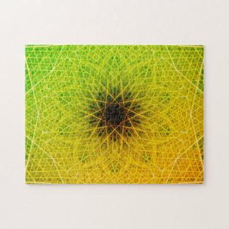Entspannungs-Mandala des Steigungs-dunkle Stern-|