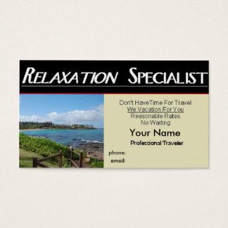 Entspannungs-Spezialist Visitenkarte