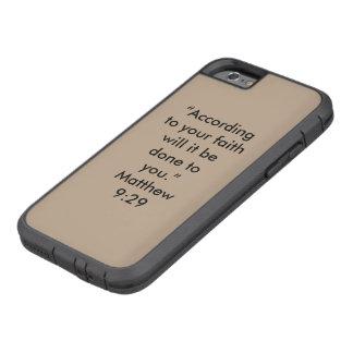 """""""Entsprechend Ihrem Glauben"""" Iphone 6/6S Tough Xtreme iPhone 6 Hülle"""