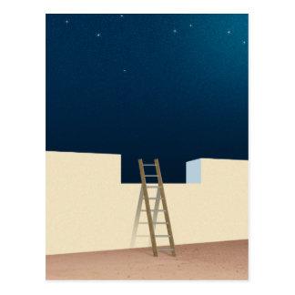 Entweichen zu den Sternen Postkarte