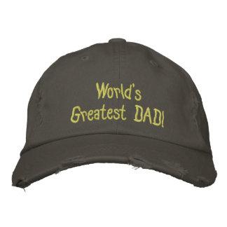 Entwerfen Sie Ihre eigene Vatertags-Baseball zerst Bestickte Kappe