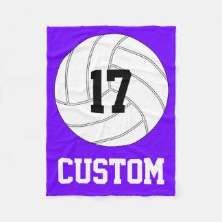 Entwerfen Sie Ihre eigene Volleyball-Fleece-Decke Fleecedecke