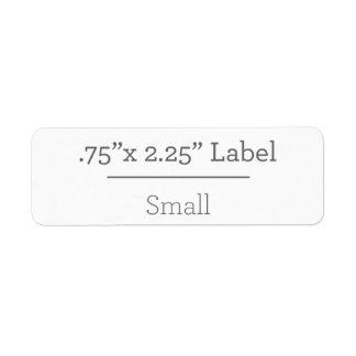 Entwerfen Sie Ihren eigenen Aufkleber 8,5 x 11 Rücksendeetiketten