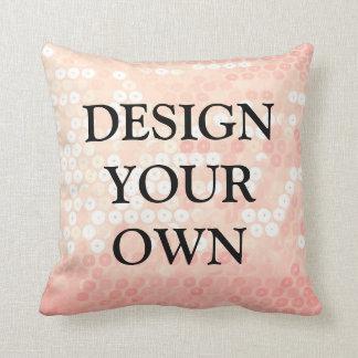 Entwerfen Sie Ihren eigenen einzigartigen und Kissen