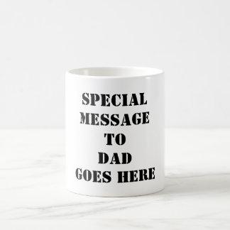 Entwerfen Sie meine eigene der Vatertags-Tasse für Tasse