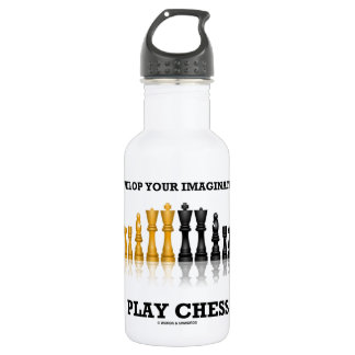 Entwickeln Sie Ihr Fantasie-Spiel-Schach Trinkflasche