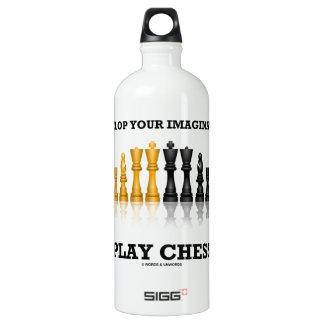 Entwickeln Sie Ihr Fantasie-Spiel-Schach Wasserflaschen
